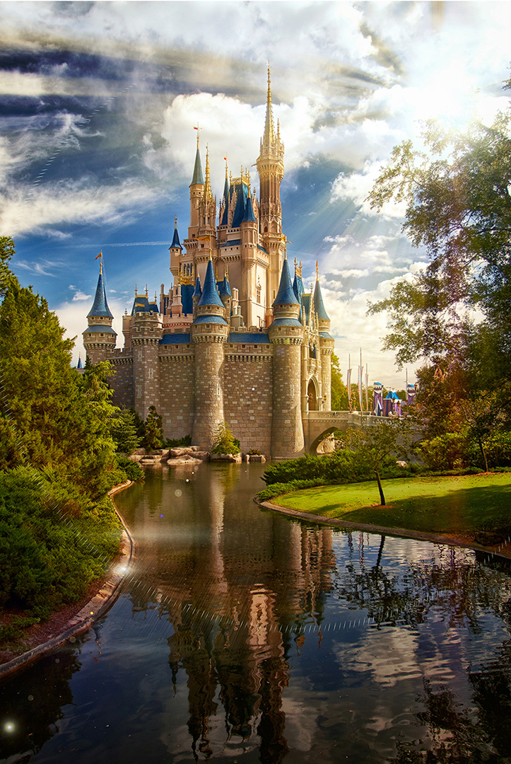 Disney Photography, Disney World Photography, Disneyland Photography, Disney Photos, Disney Pictures, Walt Disney World, The Magic Kingdom, Walt Disney, Mickey Mouse, Orlando, Florida, Theme Park, Cindarella Castle, Sunrise