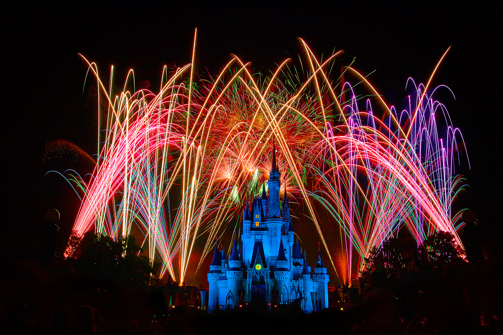 Disney Photography, Disney World Photography, Disneyland Photography, Disney Photos, Disney Pictures, Walt Disney World, The Magic Kingdom, Walt Disney, Mickey Mouse, Orlando, Florida, Theme Park,  Cindarella Castle, Wishes, Fireworks