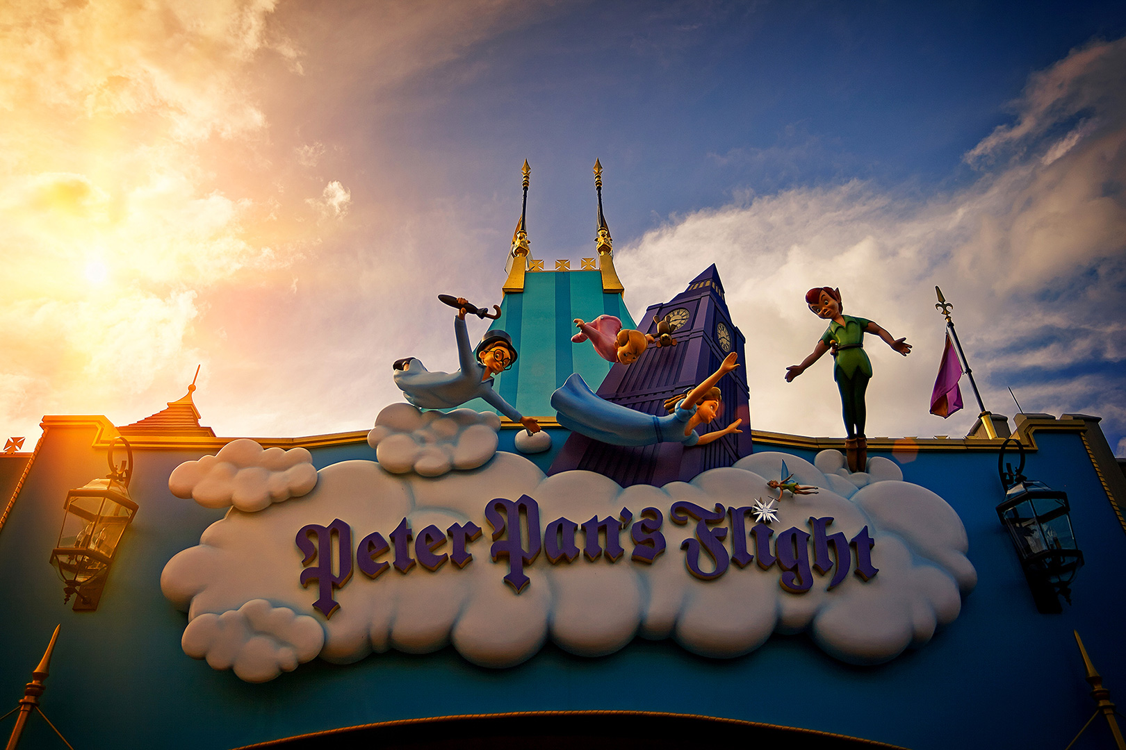 Disney Photography, Disney World Photography, Disneyland Photography, Disney Photos, Disney Pictures, Walt Disney World, The Magic Kingdom, Walt Disney, Mickey Mouse, Orlando, Florida, Theme Park,  Peter Pan, Fantasyland, Dark Ride
